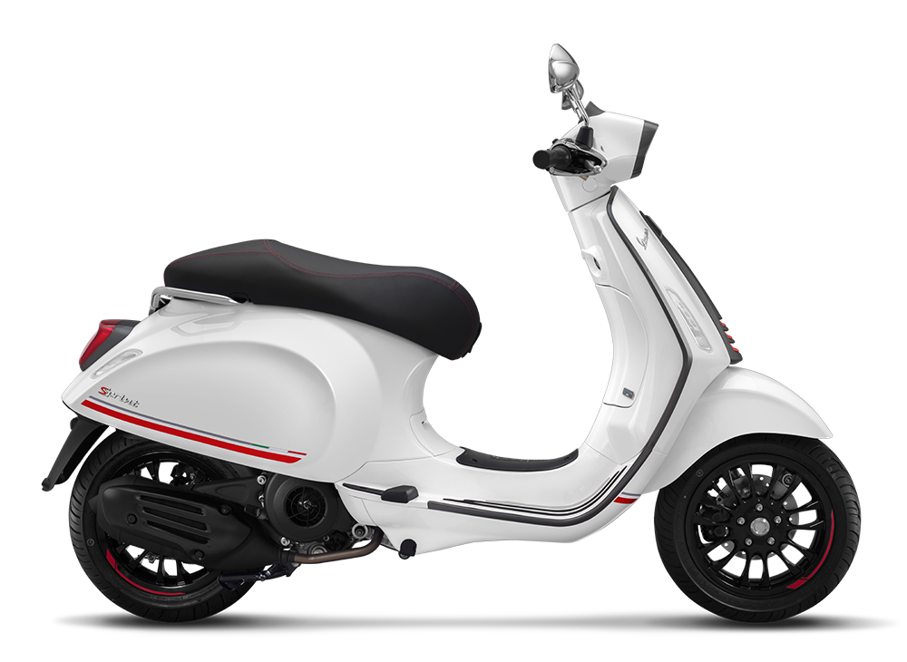 Vespa Sprint 150 Carbon
