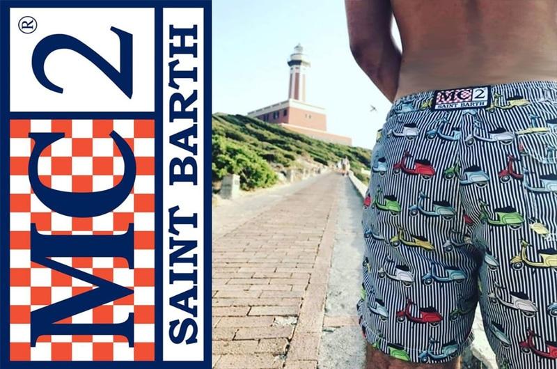 d34b9827cf Swim Short Special Edition: Vespa by Mc2 Saint Barth