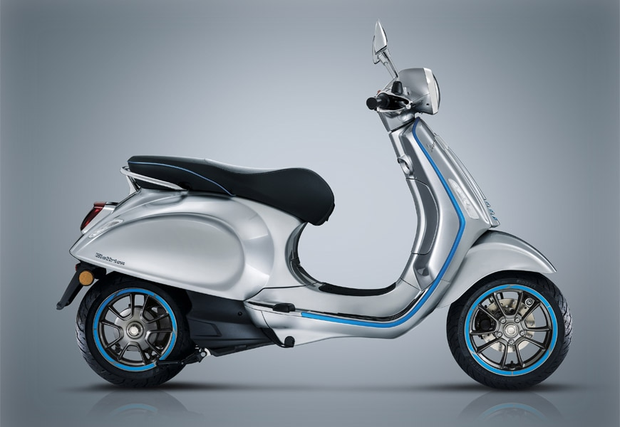 Vespa Elettrica arrives on the market on