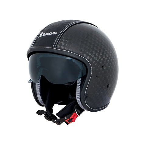 Casque Vespa Carbone