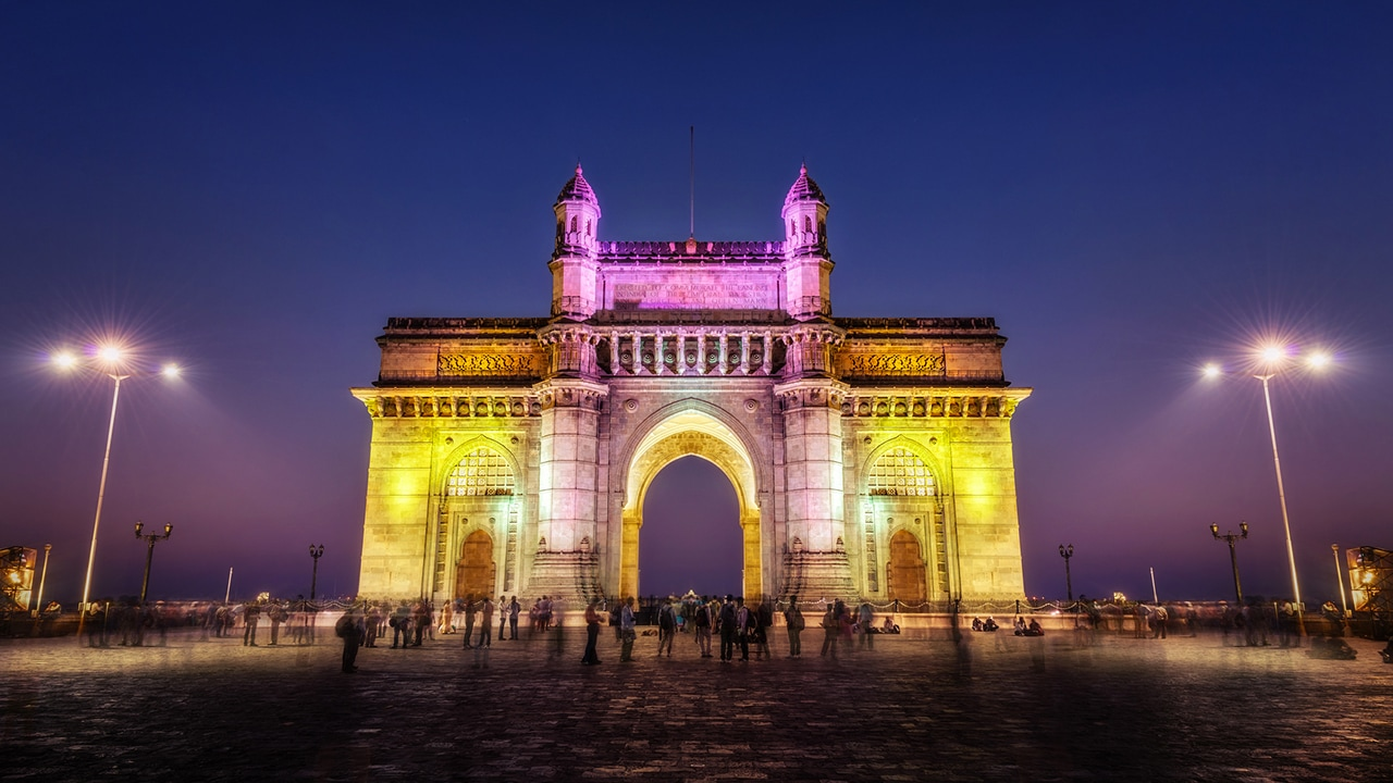 Il celebre arco commemorativo noto come Gateway Of India