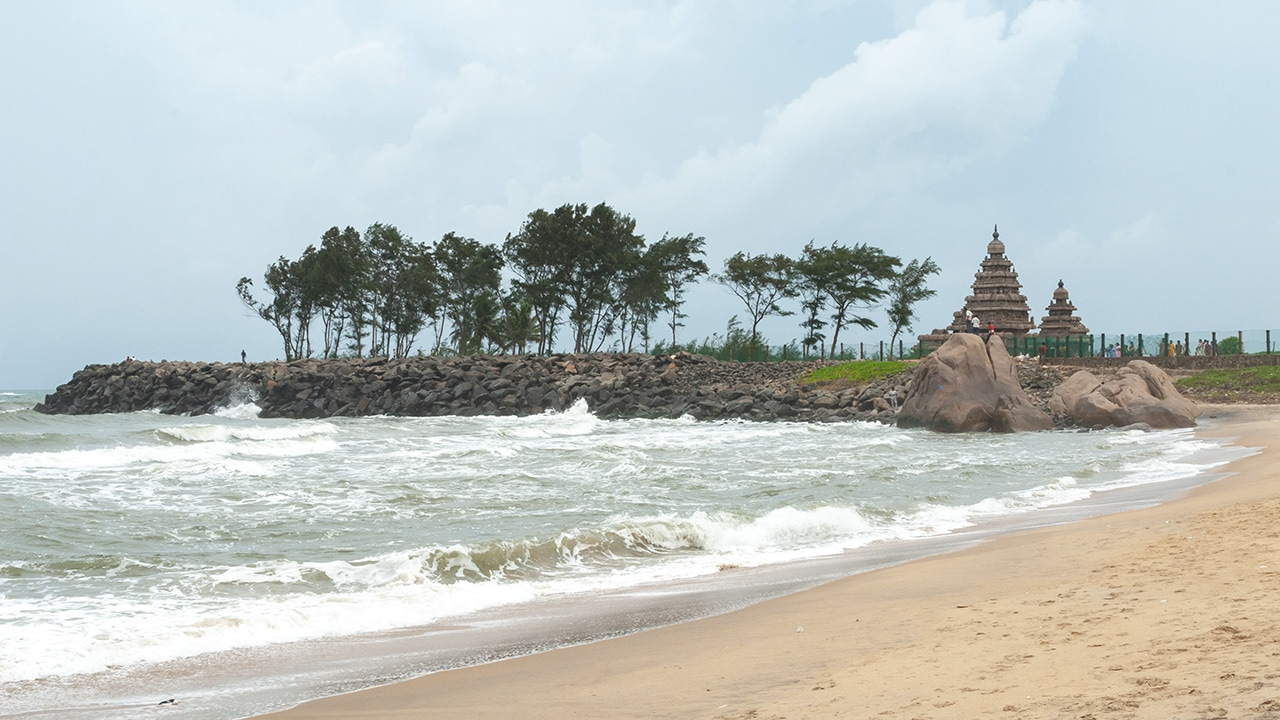 The Shore Temple, on Bengala Gulf